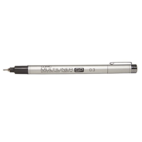 Copic Multiliner SP Black Ink Marker, 0.3 Tip