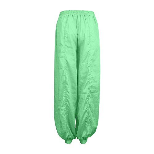 Pantalon Femmessuper Harem Spandex Doux Yoga Vert Pantalon Casual Pilates NINGSANJIN wxT11