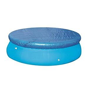 CLISPEED – Lona redonda de 10 patas para piscina fuera del suelo para piscina con marco de piscina hinchable rápido Easy Set Pool 305 cm
