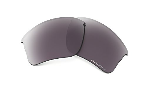 Oakley Flak Jacket XLJ Replacement Lens Prizm Daily Pol. & Cleaning Kit Bundle by Oakley