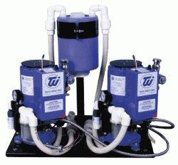 Tech West Dual Motor 2-hp Liquid Ring Vacuum System (4 User) VPL4D2