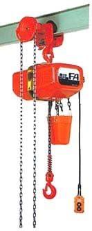 象印 FAG型ギヤードトロリ結合式電気チェーンブロック FAG-0.5 (FAG-00530) (0.5t 揚程3m)