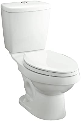 Sterling 402028-0 Karsten 12-Inch Rough-in Elongated Toilet with Dual Force Technology, White
