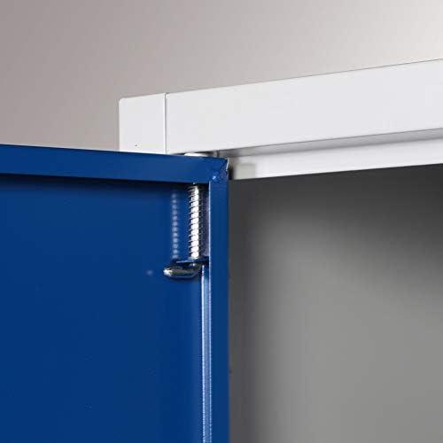 BULTO Werkzeugschrank BxTxH 925 x 500 x 1.950 mm Fl/ügelt/üren Stahl