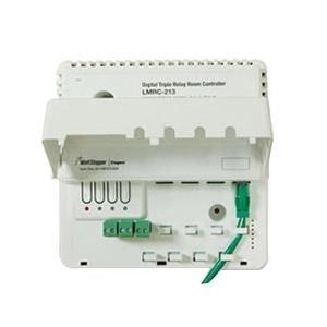 Wattstopper LMRC-211 Box Mount Single Relay On/Off Digital Dimming Room Controller 120 - 277 Volt AC 800Milli-Amp White ()