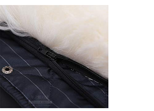 Warm Fur V Loose R Jackets Sheepskin Neck Oversized Down Man Sleeveless 2 Solid Mensto qznzFgwA