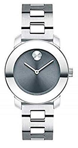 - Movado Bold, Stainless Steel Case, Blue Dial, Stainless Steel Bracelet, Women, 3600436