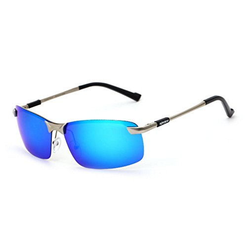 G Al Wayfarer Driving B Protection Polarizadas sol Ultra sol Light Metal Color hombre de para Gafas ZHANGRONG de Gafas Mg wY7UXxAq