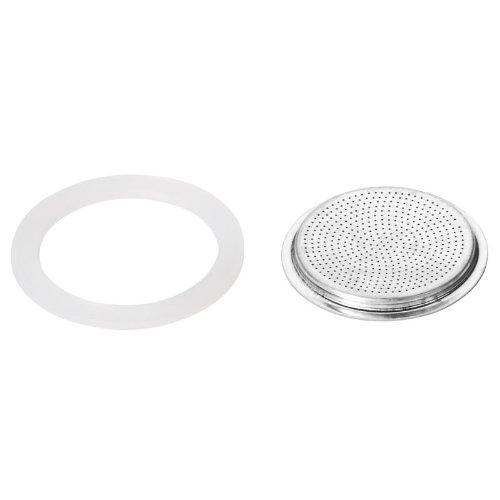 Tescoma Silic. Seal 2pz e Filtro Paloma, 3Tazze, Assortiti, 0.1x 0.1x 0.1cm T64700304