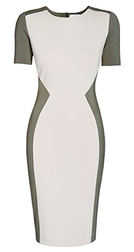 Beige Möller Kollektion TV fashion Meliya Sand and Beach AMCO von Olive Light Star Annett Dress Business aus der BqwaOCnT