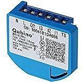 Qubino Flush 1 Relay Switch Flush-Mounted EU Z-Wave Micro Module plus - Pack of 1 ZMNHAD1