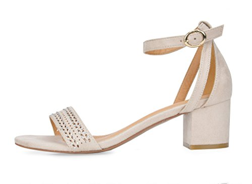 Mode Sandale Beige Mona wPlxWhCoHv