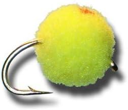 Chartruse Fly Fishing Fly Glo Bug Egg