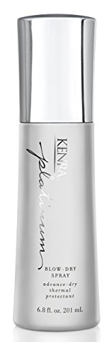 Kenra Platinum Blow-Dry Spray, 6.8-Fluid Ounce (Best Way To Straighten Hair Without Flat Iron)