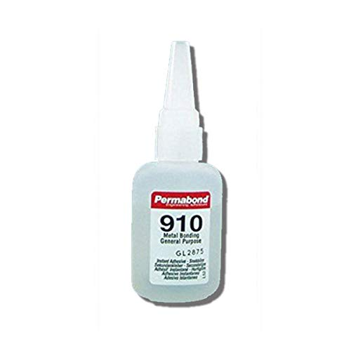 Permabond 910 (1oz Bottle) Instant Adhesive-Fast-Set Low Viscosity Thin Metal-General Purpose