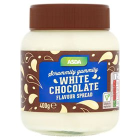 Asda White Chocolate Flavour Spread 400g