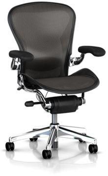 Herman Miller Executive Classic Aeron Task Chair: Highly Adj