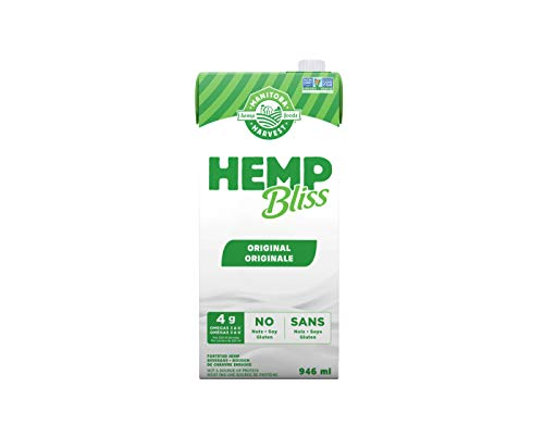 Manitoba Harvest Hemp Bliss Original 946ml, 5676 milliliters