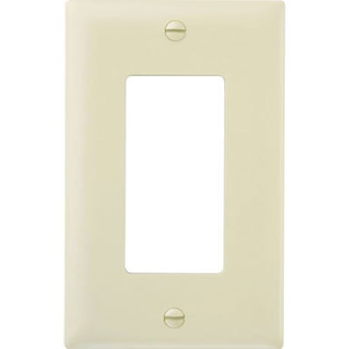 (Legrand - Pass & Seymour SP26IUCC100 Wall Plate One Gang Decorator Easy Installation, Ivory)