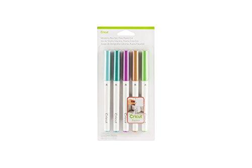 Cricut Explore Wisteria Pen Set, Fine Point 0.4  - 6 Pcs