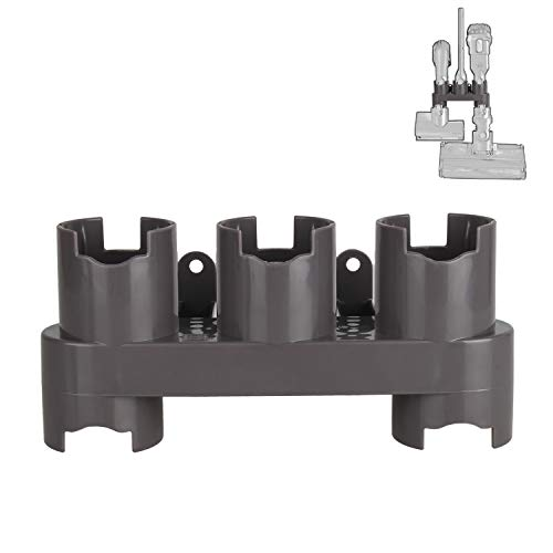 iVict Docks Station Accessory Organizer Holders Compatible with Dyson V7 V8 V10 Vacuum CleanerGrey, 1 Pack