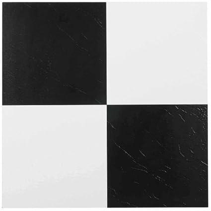 NEXUS 12x12 Self Adhesive Vinyl Floor Tile - 20 Tiles/20 Sq.Ft.