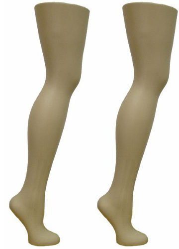 2 Free Standing Female Mannequin Leg Sock and Hosiery Display Foot 28'' Tall or Christmas Leg Lamp (SCK-FR-2)