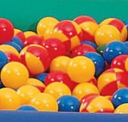 Sammons Preston Ball Pit Balls, Set of 500, 2'' Diameter Balls, Replacement Soft Plastic Pool Balls in Multiple Colors for Fun Children's Ball Pits, Crush Proof Plastic Ball, Various Colors by Sammons Preston