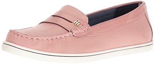 Tommy Hilfiger Women's Butter4 Flat, Light Pink, 9 M US