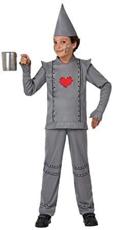 Atosa-16094 Disfraz Hombre Hojalata, color gris, 3 a 4 años (16094 ...