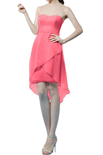 Missdressy - Vestido - trapecio - para mujer Wassermelone 36