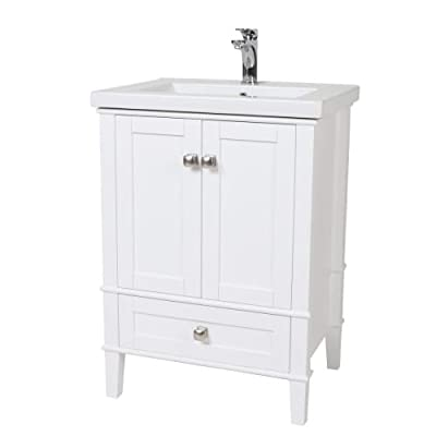 Elegant Decor Single Bathroom Vanity Set