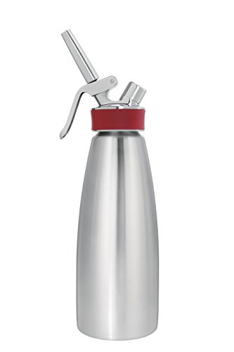 ISI Gourmet Whip 1 Quart PLUS - Stainless Steel - Model (Gourmet Whip Cream Chargers)