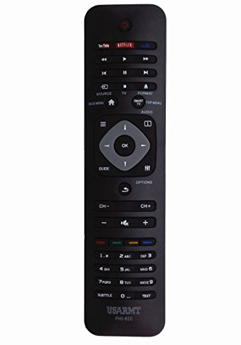 VINABTY New Universal Replaced Remote Control fit for Philips TV BLU-RAY Disc Player Home DVD Digital Recorder HDD DVD Recorder STB