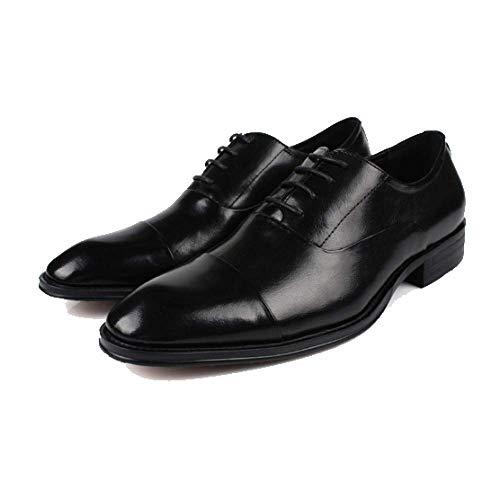 Scarpe Traspiranti in da Deodoranti Scarpe Pelle Casual Black Moda Tendenza Appuntite Uomo Uomo Scarpe Coreana da Stringate OBtTZqZx