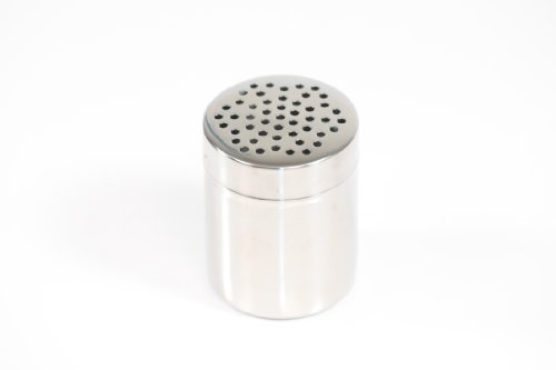 Paderno World Cuisine 1/4 Quart Stainless-steel Sugar Dredger with Coarse Holes by Paderno World Cuisine