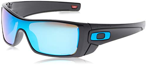 Oakley Men's OO9101 Batwolf Sunglasses, Polished Black/Prizm Sapphire, 127 mm