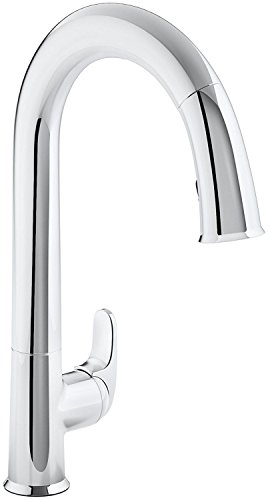 KOHLER K-72218-CP Sensate Touchless Kitchen Faucet, Polished Chrome