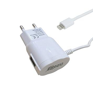 Extrastar CMJT27IPHW - Cargador Móvil USB 5V/2.4A con Cable ...