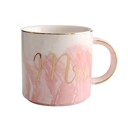 Mugs - Luxury Stone Pattern Water Drink Heater Mugs Ceramic Mr Mrs Couple Coffee Cup Tea Milk - Nail Game Cactus Claw Heat Luxury Ceramic Kettle Pipe Coffee Adhesive Clipper Atomizer Flexib ()