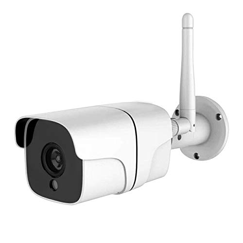 Outdoor Wireless Cmos Camera - Outdoor Security Camera WiFi Wireless IP Surveillance Camera with Night Vision up to 65ft Motion Detection Alarm/Recording, Support Max 64GB SD Card
