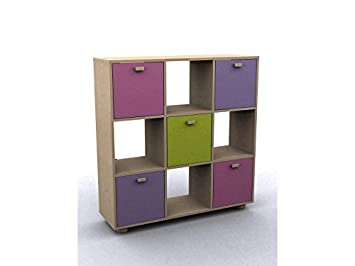 Right Deals UK Sydney 3x3 Cube Storage Unit Shelves - Pink Blue Childrens Bedroom Furniture  sc 1 st  Amazon UK & Right Deals UK Sydney 3x3 Cube Storage Unit Shelves - Pink Blue ...