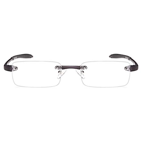 db1bc90ebdb ALTEC VISION Rimless Readers Lightweight Reading Glasses - 2.50x ...