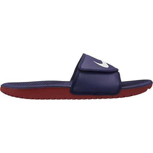 Nike Kawa Adjust  Men Sandals Slides Blackened Blue/Sail-Dun