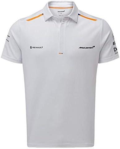 McLaren F1 2019 Team - Polo para hombre, color blanco, Medium ...