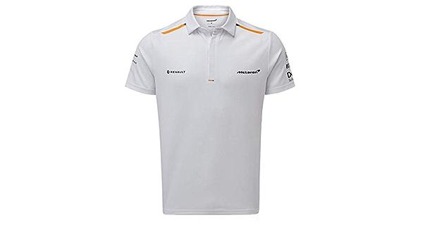 McLaren F1 2019 Team - Polo para hombre, color blanco