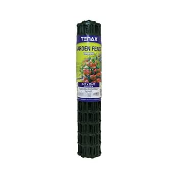 Amazon Com Tenax Garden Fence 2 X 25 Feet Green