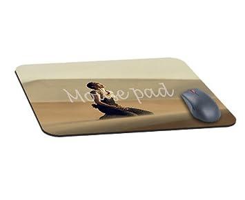 Bureau rectangle tapis de souris avec madmax furiosa charlize