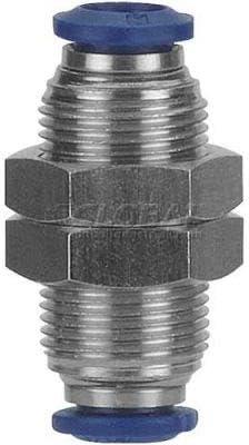 Pkg Qty 5 Pack Of 3 AIGNEP Bulkhead Union 88050-04 1//4 Tube