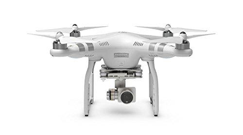 DJI Phantom 3 Advanced Quadcopter Drone 1080p HD Video Camera + Lexar 32GB MicroSDHC 633x + Polaroid Backpack Custom Foam + Metal Lens Cap + Ritz Gear SD Card Reader + Propeller Kit + Accessory Bundle